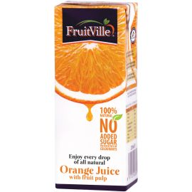 Fruitville Orange Juice Tetra - Bulkbox Wholesale