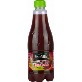 Fruitville Strawberry Banana Juice - Bulkbox Wholesale