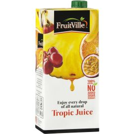 Fruitville Tropic Juice Tetra - Bulkbox Wholesale