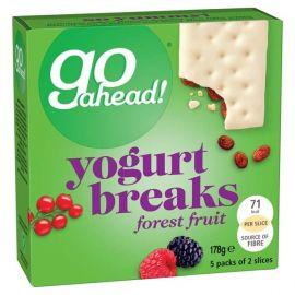 Go Ahead Yoghurt Bars Forest Fruit 9x178g - Bulkbox Wholesale