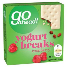 Go Ahead Yoghurt Bars Strawberry 9x178g - Bulkbox Wholesale