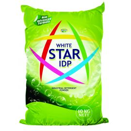 White Star Industrial Washing Powder  1x10Kg Bag - Bulkbox Wholesale