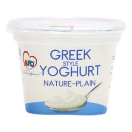 Bio Greek Style Yoghurt Nature-Plain 6x200ml - Bulkbox Wholesale