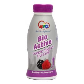 Bio Active Probiotic Blackberry & Raspberry 12x350ml - Bulkbox Wholesale