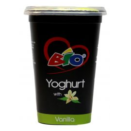Bio Yoghurt Vanilla 6x450ml - Bulkbox Wholesale