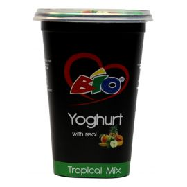 Bio Yoghurt Tropical Mix 6x450ml - Bulkbox Wholesale