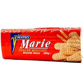 Mcvities Marie Finger Biscuits 24x200g - Bulkbox Wholesale