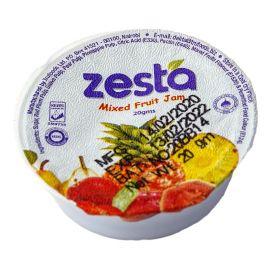 Zesta Mixed Fruit Jam Tubs - Bulkbox Wholesale