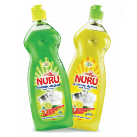 Nuru Dish Washing Liquid Lemon Spark 6x750ml - Bulkbox Wholesale