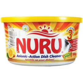 Nuru Dish Washing Paste Lemon Spark 6x400g + 100g - Bulkbox Wholesale