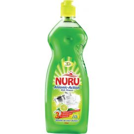 Nuru Dish Washing Liquid Lime Wave 6x750ml - Bulkbox Wholesale