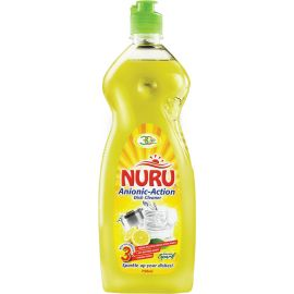 Nuru Dish Washing Paste Lemon Spark 6x800g - Bulkbox Wholesale