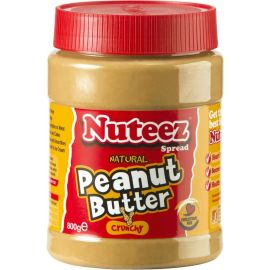 Nuteez Peanut Butter Crunchy - Bulkbox Wholesale