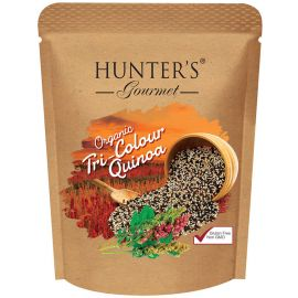 Hunters Organic Tri Colour Quinoa Seeds 6x300g - Bulkbox Wholesale