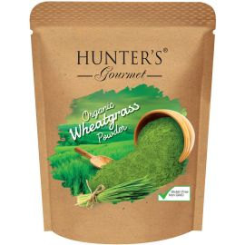Hunters Organic Wheat Grass Powder 6x250g - Bulkbox Wholesale