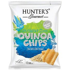 Hunters Quinoa Chips Salt Vinegar 6x28g - Bulkbox Wholesale