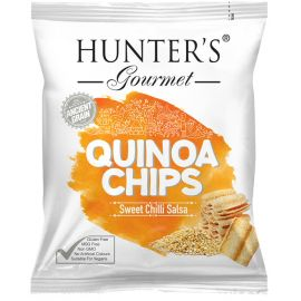 Hunters Quinoa Chips Sweet Chilli Salsa 6x28g - Bulkbox Wholesale