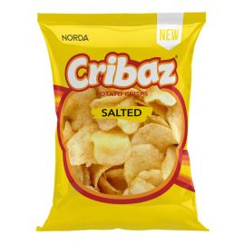 Cribaz Salted Crisps - Bulkbox Wholesale
