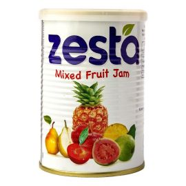 Zesta Mixed Fruit Jam Tin - Bulkbox Wholesale