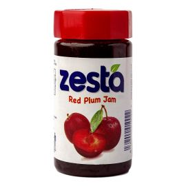 Zesta Red Plum Jam Jar - Bulkbox Wholesale