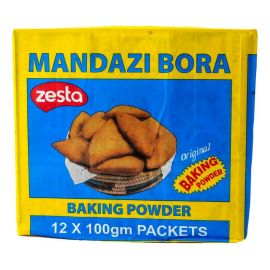 Zesta Mandazi Bora Baking Powder 72x100g - Bulkbox Wholesale