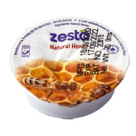 Zesta Natural Honey Tubs - Bulkbox Wholesale