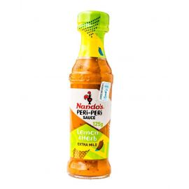 Nandos Peri Peri lemon & Herb Sauce 6x125ml - Bulkbox Wholesale