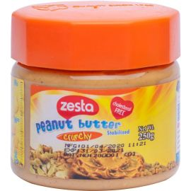 Zesta Crunchy Peanut Butter 12x250g - Bulkbox Wholesale