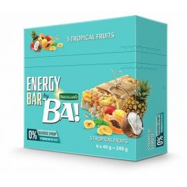 Bakalland Energy Bar 5 Tropical Fruits 25x40g - Bulkbox Wholesale