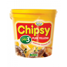 Chipsy Plus 3 Cooking Fat 6x2Kg - Bulkbox Wholesale