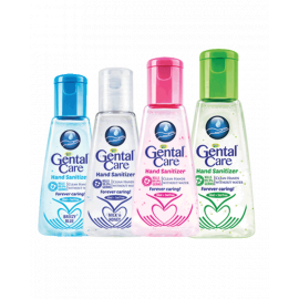 Gental Care Hand Sanitizer Assorted 48x50ml + 5ml - Bulkbox Wholesale