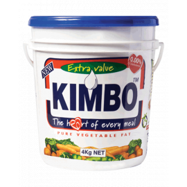 Kimbo Cooking Fat 4x4Kg - Bulkbox Wholesale