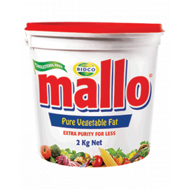 Mallo Cooking Fat 6x2Kg - Bulkbox Wholesale
