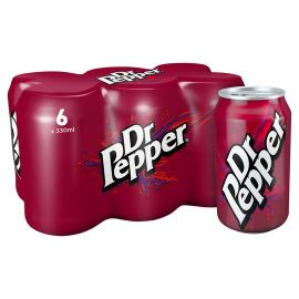 Dr. Pepper Regular 24x330ml - Bulkbox Wholesale