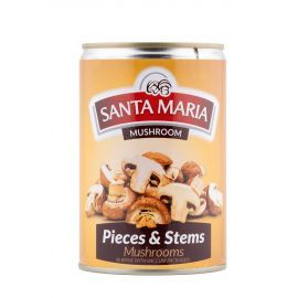 Santa Maria Mushroom Whole 24x360gm - Bulkbox Wholesale