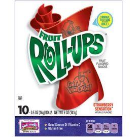 Betty Crocker Strawberry Fruit Roll Ups 5x141g - Bulkbox Wholesale