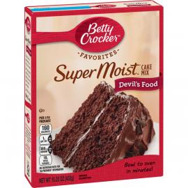 Betty Crocker Devil's Food Cake Mix 6x432g - Bulkbox Wholesale