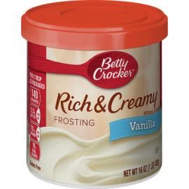Betty Crocker Frosting Vanilla   4x453g - Bulkbox Wholesale