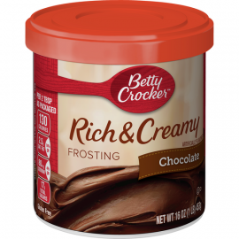 Betty Crocker Frosting Chocolate 4x453g - Bulkbox Wholesale