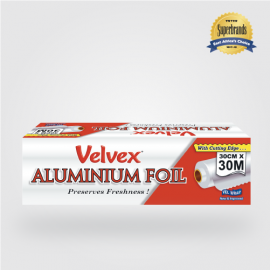 Velvex Cling Film Standard 30cmX30m - 24 Rolls - Bulkbox Wholesale