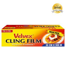 Velvex Cling Film Catering 30cmX500m - 6 Rolls - Bulkbox Wholesale