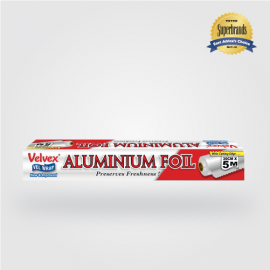 Velvex Aluminium Foil Standard 30cmX5m - 36 Rolls - Bulkbox Wholesale