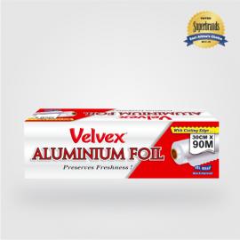 Velvex Aluminium Foil Catering 30cmX90m - 1 Roll - Bulkbox Wholesale