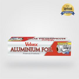 Velvex Aluminium Foil Catering 45cmX30m - 6 Rolls - Bulkbox Wholesale