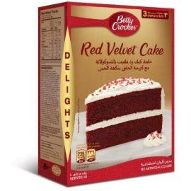 Betty Crocker Red Velvet Cake Mix 6x395g - Bulkbox Wholesale