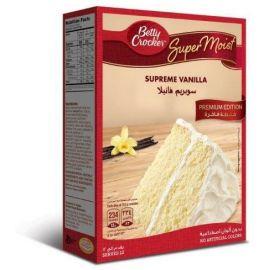 Betty Crocker Supreme Vanilla Cake Mix 6x510g - Bulkbox Wholesale