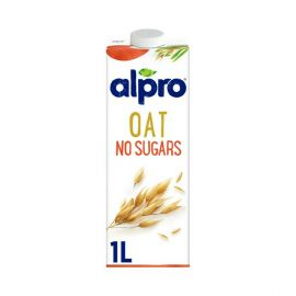 Alpro Oat Drink Unsweetened 8x1L - Bulkbox Wholesale