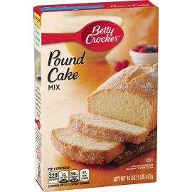 Betty Crocker Pound Cake Golden Mix 6x454g - Bulkbox Wholesale