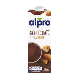 Alpro Almond Dark Chocolate Drink 8x1L - Bulkbox Wholesale