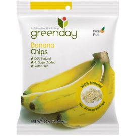 Greenday Banana Chips 12x50g - Bulkbox Wholesale